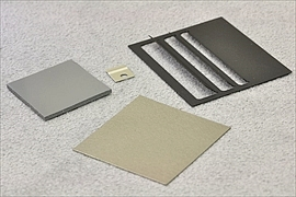 Die Cut Parts Made of Gel Film, Metal Sheet And Electromagnetic Shielding Material