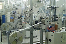 Rolled Sheets Punching Facility