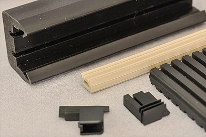 Building Materials after Rubber Surface Treatment